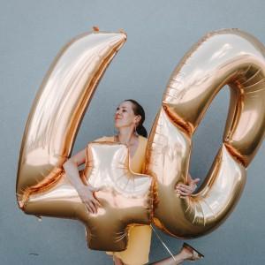 Balony foliowe cyfry 163 cm