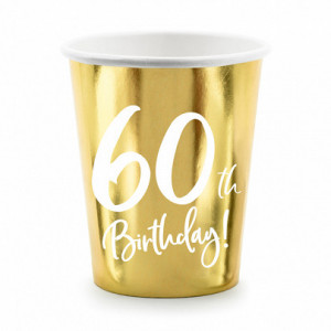 Nakrycia stołu na 60 urodziny