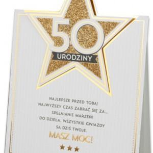 Kartki i dyplomy na 50 urodziny