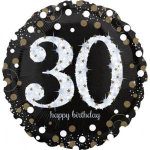 Balony foliowe na okrągłe urodziny