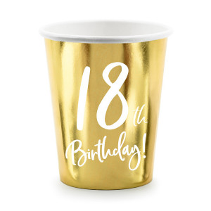 Dekoracje stołu na 18 urodziny
