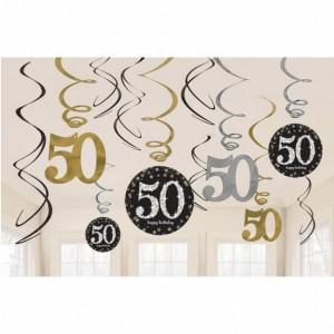 Dekoracje na 50 urodziny