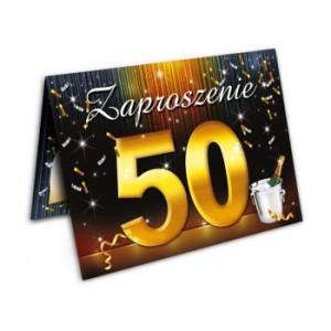 Zaproszenia na 50 urodziny