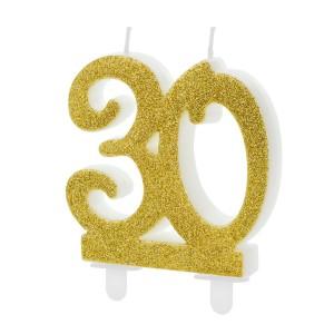 Świeczki na na urodziny na tort