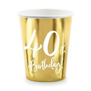 Nakrycia stołu na 40 urodziny