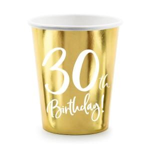 Nakrycia stołu na 30 urodziny