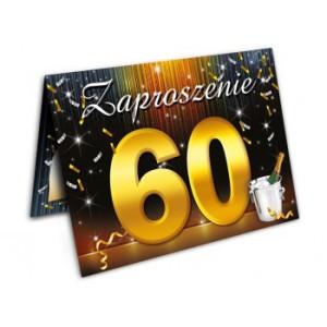 Zaproszenia na 60 urodziny