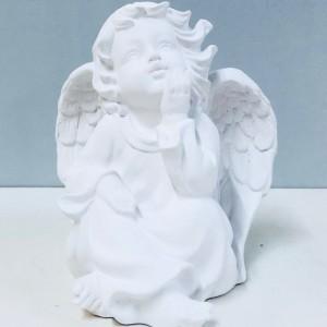 Aniołki gipsowe