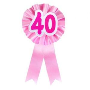 Akcesoria dla Jubilatki / Jubilata na 40 urodziny