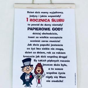 Dyplomy na Rocznicę Ślubu