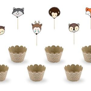 Dekoracje do muffinek