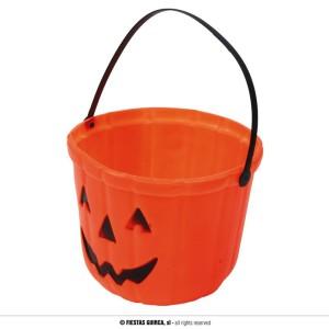 Wiadereczko na Halloween Dynie