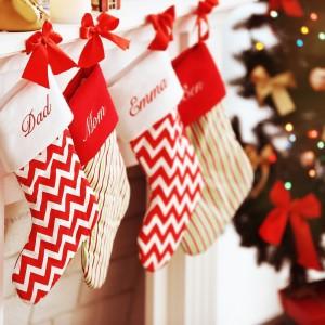 Skarpety na prezenty na Boże Narodzenie