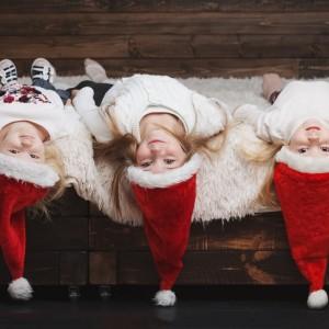 Czapki i opaski świąteczne na Boże Narodzenie