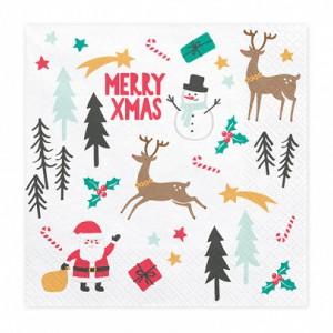 Serwetki Świąteczne na Boże Narodzenie