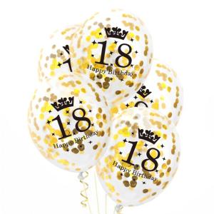 Balony na 18 urodziny lateksowe