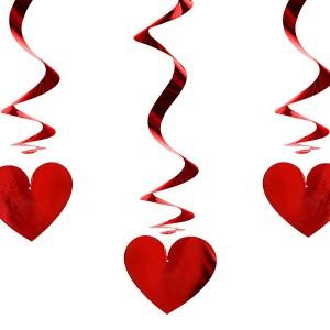 Dekoracje wiszące na Walentynki