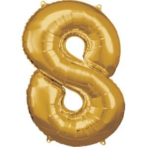Balony 18 - duże cyfry foliowe