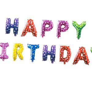 Balonowe napisy urodzinowe
