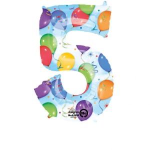Balony na 5 urodziny