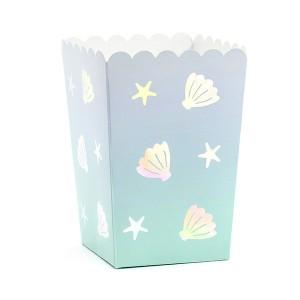 Pudełka na popcorn i słodycze