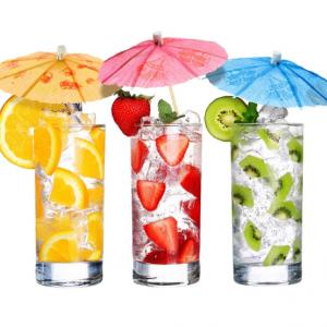 Słomki i ozdoby do drinków