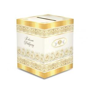 Pudełka na koperty na Komunię
