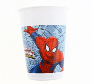 "Kubeczki plastikowe - ""Ultimate Spiderman - Web Warriors"""
