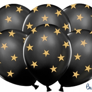 Balony lateksowe w gwiazdki