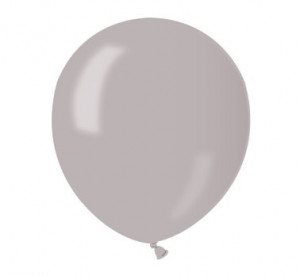 "Balony AM50 metal 5"" - srebrne"