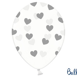 Balony lateksowe w serduszka