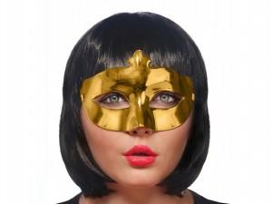 Maski Weneckie - Maska karnawałowa Wenecka złota / MAS1-019