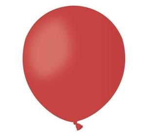 "Balon A50 pastel 5"" - ""czerwony 45"""
