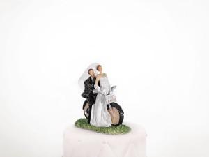 Figurka Para Młoda na motorze, 11cm