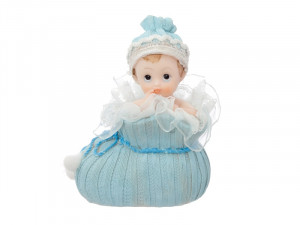 "Figurki na tort - Figurka na tort ""Chłopiec w bucie"" / 10,5 cm"