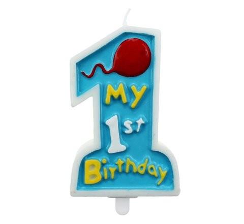 Świeczki na urodziny chłopca,świeczki urodzinowe dla chłopca