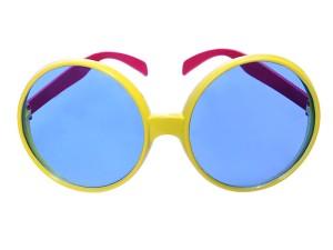 Okulary - Okulary Pilotki, żółte