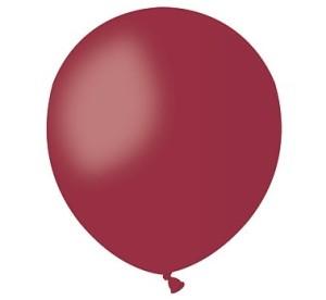 "Balony lateksowe małe 5"" - Balon A50 pastel 5"" - ""bordowy"""