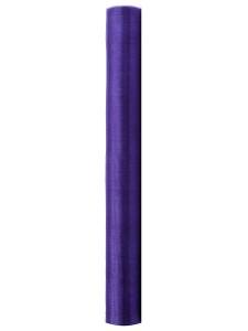 Organza Gładka, fiolet, 0,36x9m