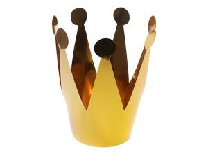 Korony - Zestaw złotych koron Party