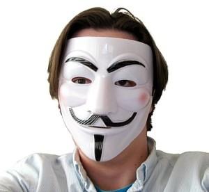 Maski Protestu - Maska Protestu Anonymous