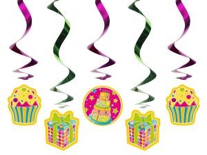 """Girlandy kształty - Świderki dekoracyjne """"Słodycze"""" / SWID8"""