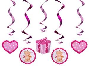 """Girlandy kształty - Świderki dekoracyjne """"Misie"""" / SWID3"""