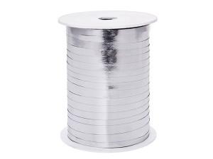 Wstążka metalizowana, srebrny, 5mm x 225m, 1szt.