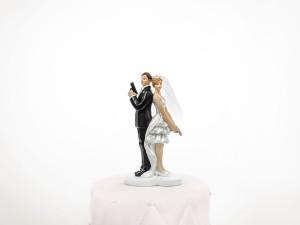 """Figurki na tort - Figurka na tort """"Para Tajni Agenci"""" / PF48"""