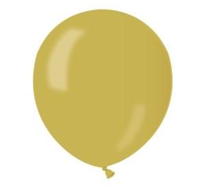 "Balony AM50 metal 5"" - żółte"