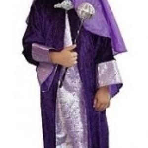 Strój króla na Jasełka