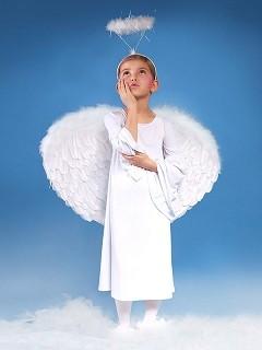 Aureola anioła na Jasełka, dodatki stroju anioła na Jasełka