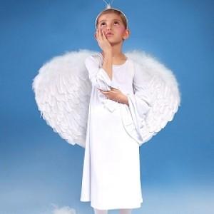 Aureola anioła na Jasełka