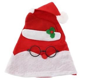 Czapki - Czapka Mikołaja w okularach